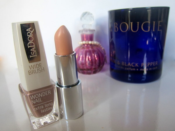 Isadora Macchiato Wonder Nail Polish and Isadora Biscotti Jelly Kiss Lipstick