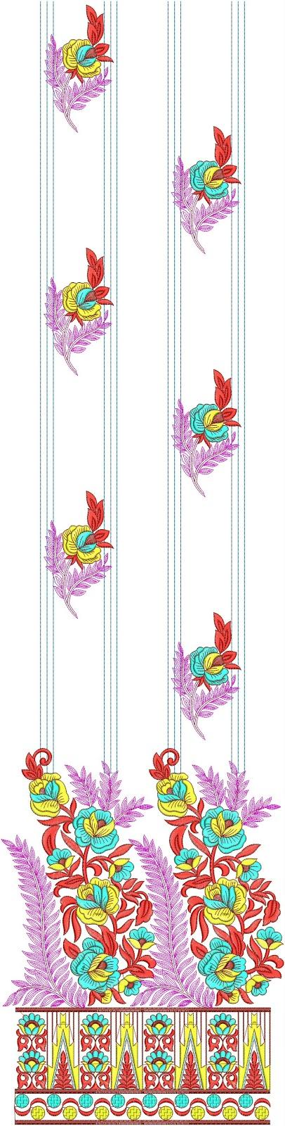 Pakistani Dress Suits Embroidery Designs  Embdesigntube