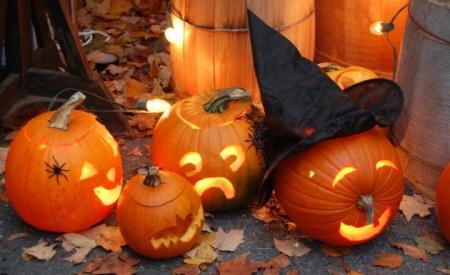 Decoraci n calabazas para halloween kitchen design luxury homes - Decoracion calabazas halloween ...