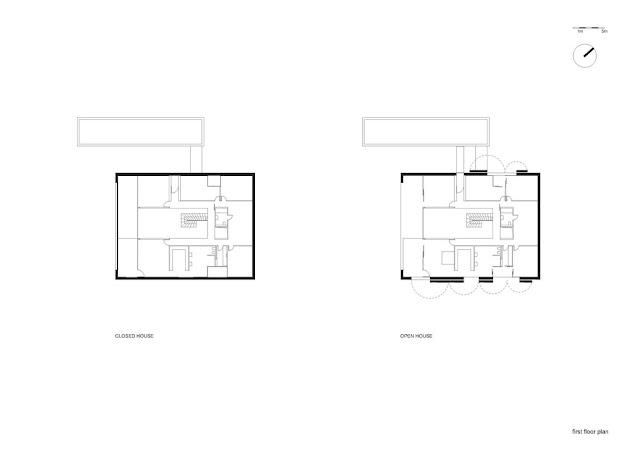 Floor plan of safest house second floor