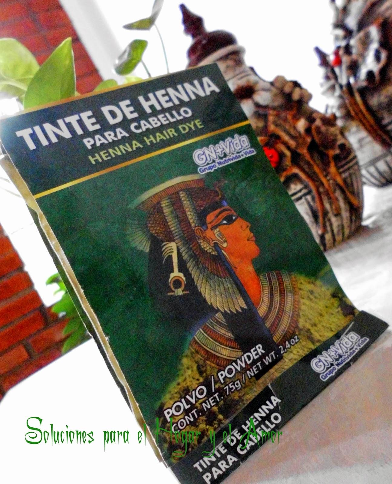 Como teñirse con Henna Tinte Natural para el Cabello