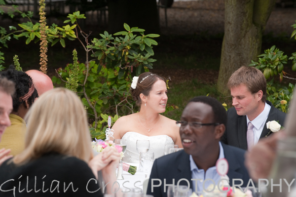 Crook Hall Outdoor Ceremony