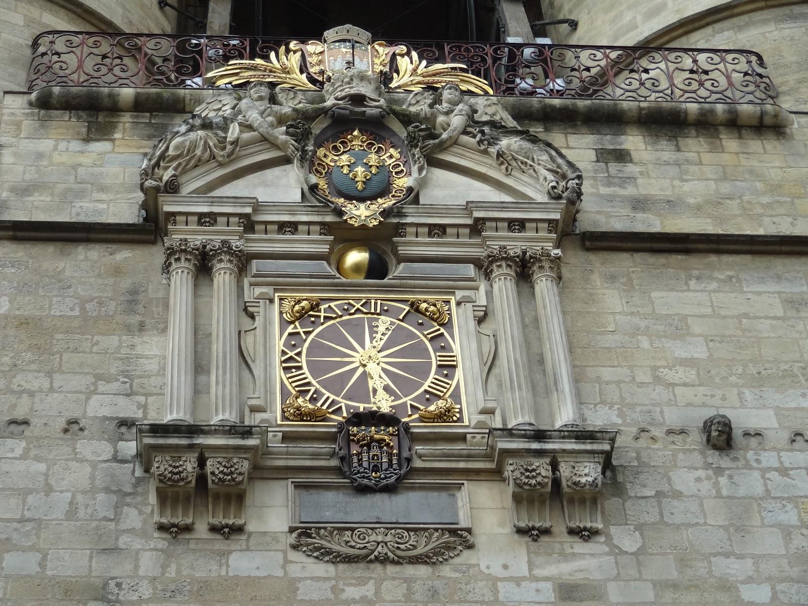 gran trasero reloj