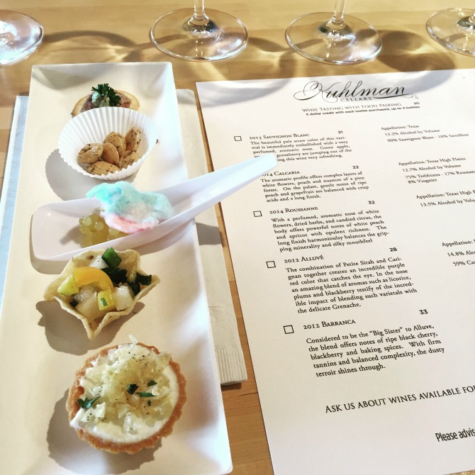 The Holland House: Kuhlman Cellars Wine and Food Pairing