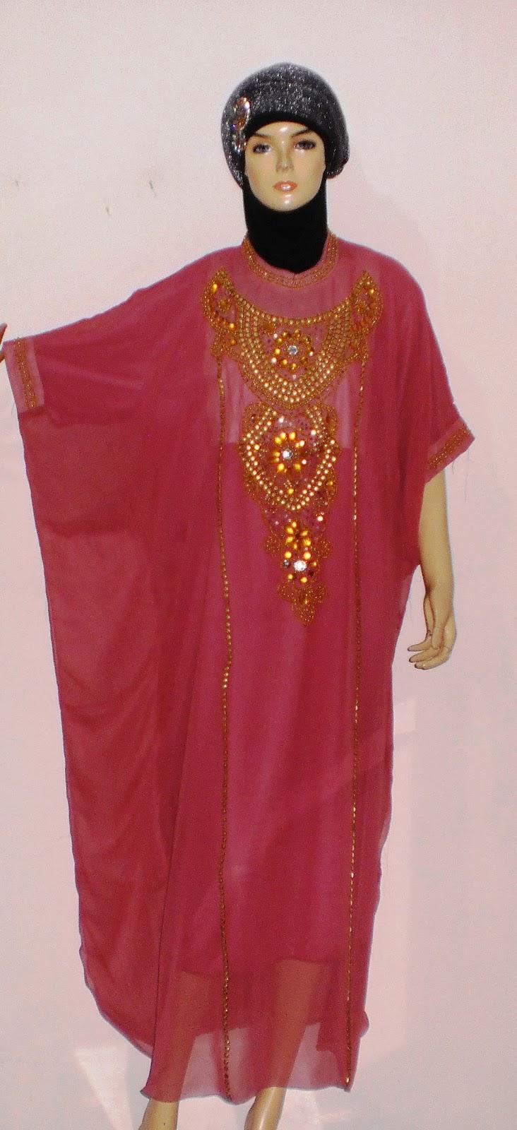 Gamis Kaftan GP042A Spesial - Grosir Baju Muslim Murah ...