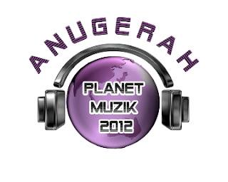 Daftar Pemenang Anugerah Planet Muzik 2012