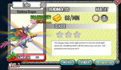 Dragão Arco-Íris - Informações