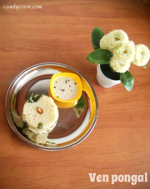 pongal, Ven Pongal | Milagu Pongal | Khara Pongal Recipe