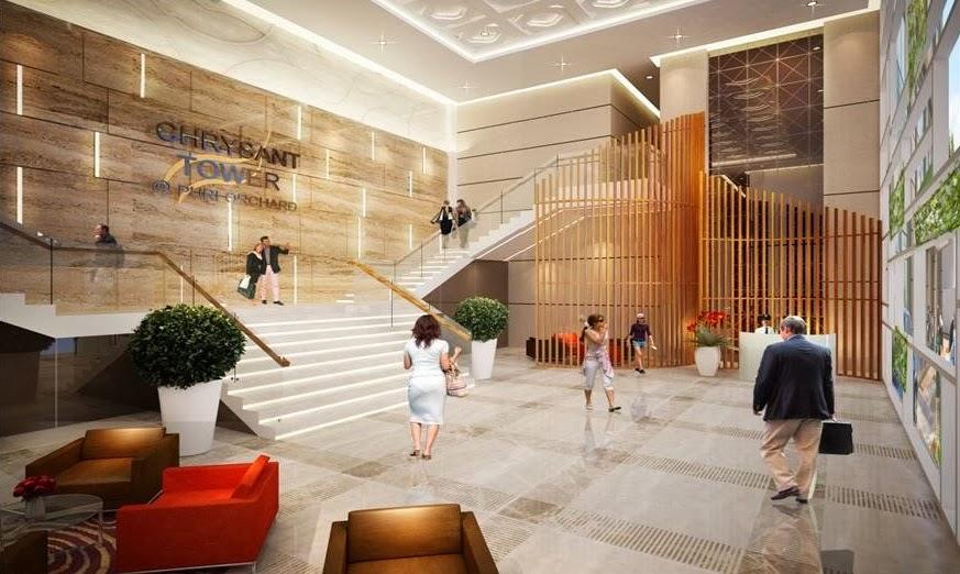 Lobby Apartemen Puri Orchard