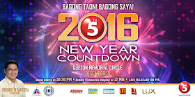 TV5 New Year Countdown 2016