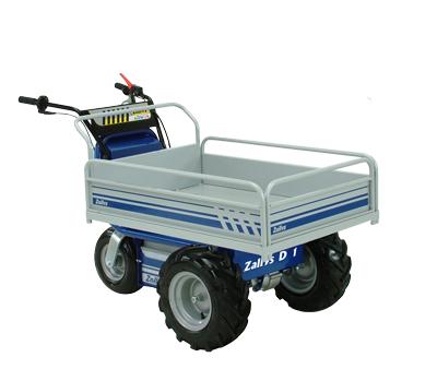Electric wheel barrow range made by zallys italy for Motorized wheelbarrows for sale
