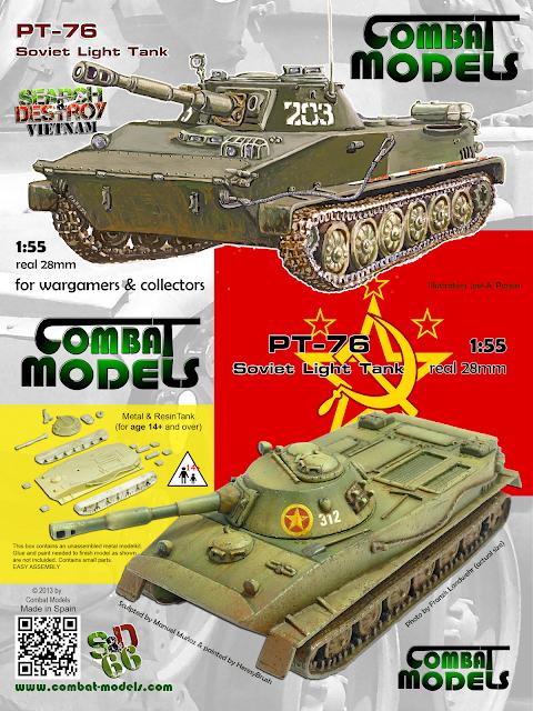 PT-76 Combat Models (cover)
