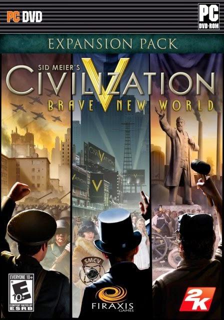SID MEIERS CIVILIZATION V BRAVE NEW WORLD, PC GAME