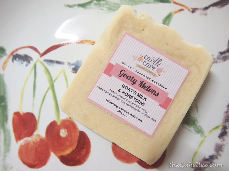 Earth Care Goaty Melons Organic Handmade Bodysoap