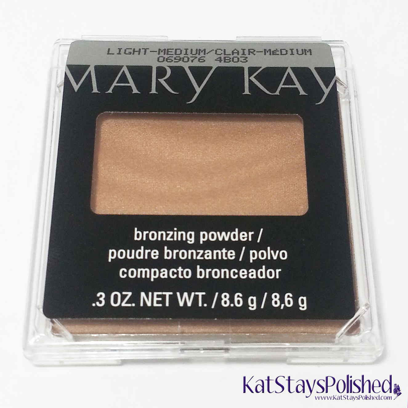Influenster Mary Kay VoxBox - Bronzing Powder | Kat Stays Polished