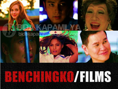 Benchingko Films presents Kama (starring Lovi Poe), Perya (starring Piolo Pascual), Horse Power (starring Coco Martin), Star Teacher (starring Cong. Lucy Torres-Gomez), Kontrabida 101 (starring Bella Flores) and 25 Bens (starring Ben Chan, himself)