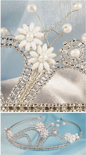 how to make a tiara with wire