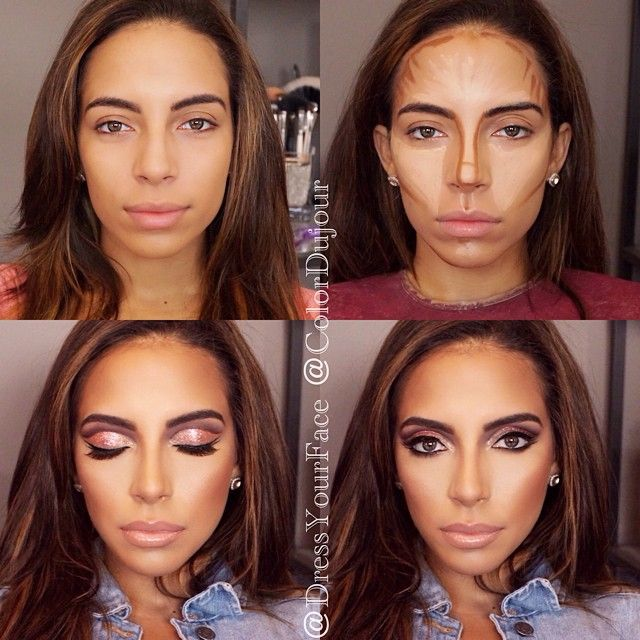 contouring in general is not for everyday but this one shown in the ...