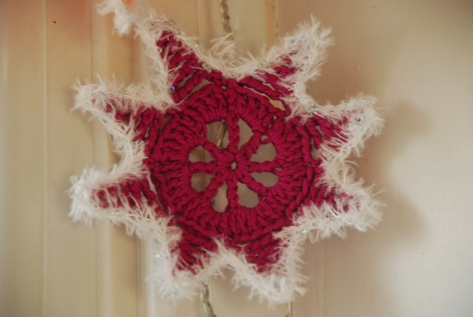 image of crocheted star