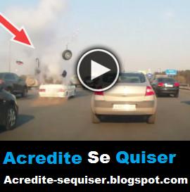 Botijão de Gás Natural Explode Em Porta Malas de Carro. Milagrosamente Não Aconteceu Nada Com os Passageiros. Vejam Só Que Perigo