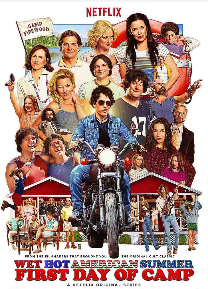 Wet Hot American Summer: First Day of Camp 1ª Temporada Torrent - WEB-DL 720p Dual Áudio (2015)