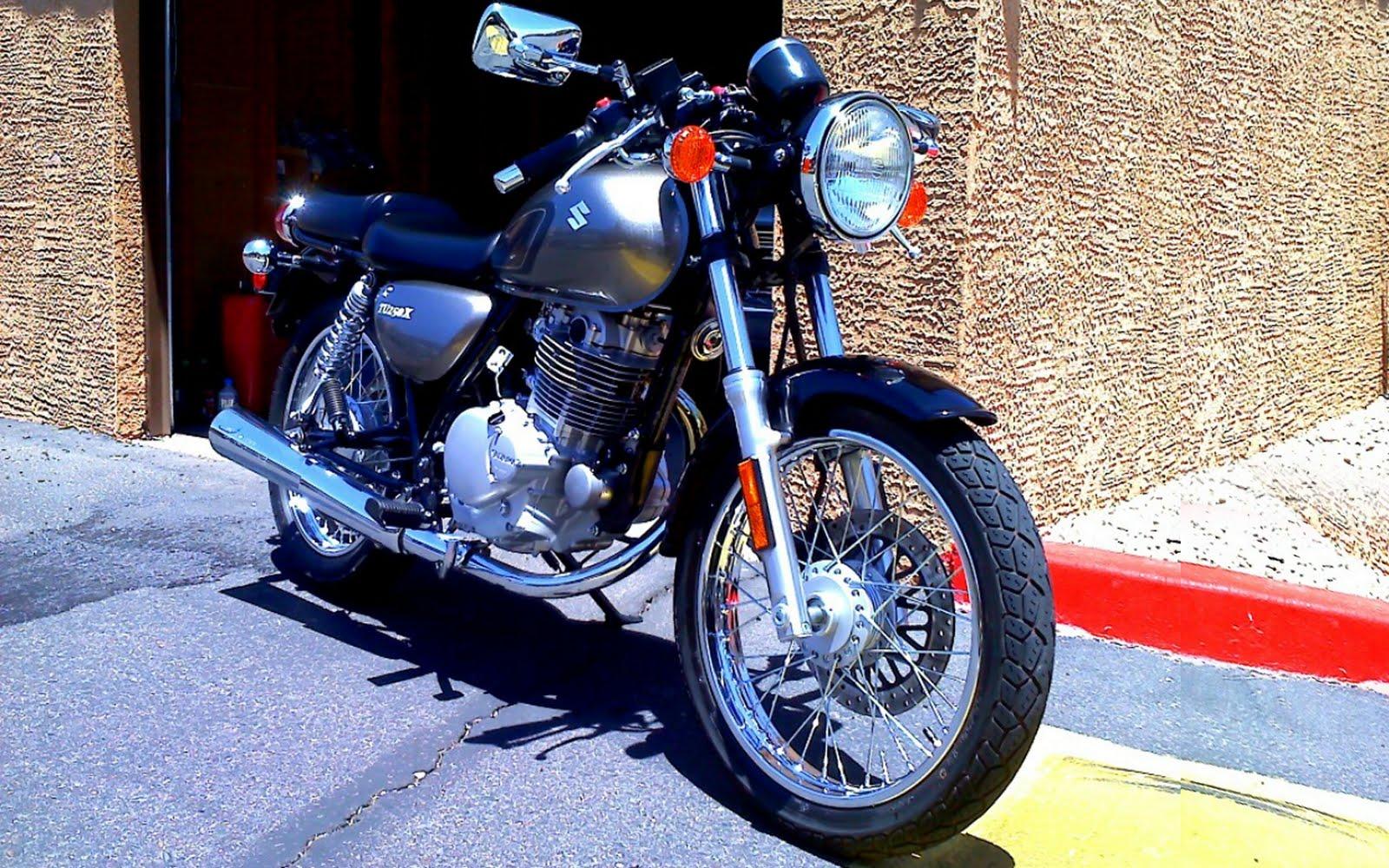 suzuki tu250x: bikemaster clubman handlebars