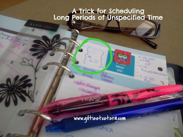 schedule, planner