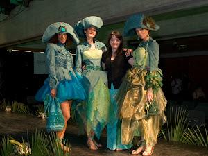 Con le mie modelle....(Scuola di Moda, Flashback)