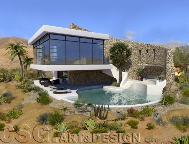 Revista digital apuntes de arquitectura casa oasis en la - Estudios de arquitectura en tenerife ...