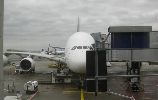 Thai A380 in FRA