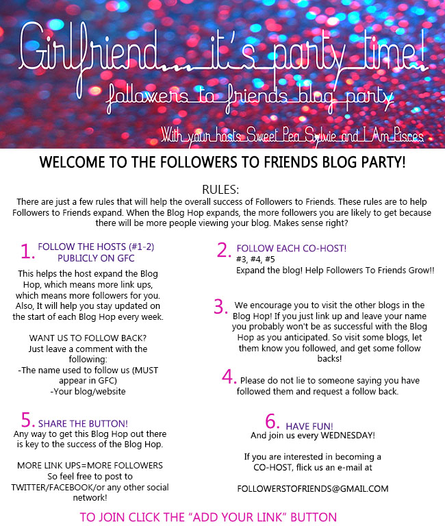STANDARDPOSTFTF Friends To Followers Blog Hop!