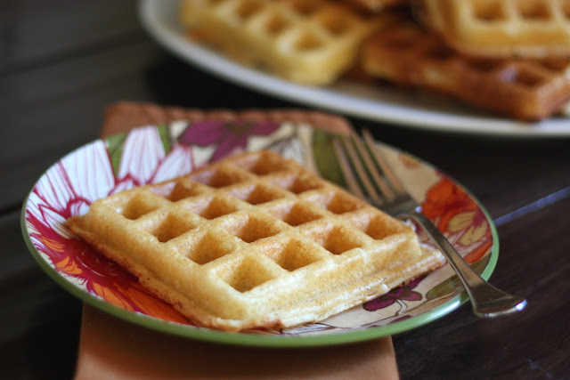 Light and Fluffy Buttermilk Waffles - Gluten Free recipe by Barefeet In The Kitchen