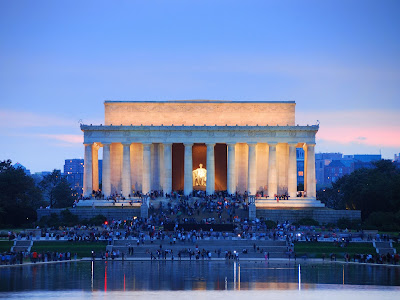 Lincoln Memorial Night View