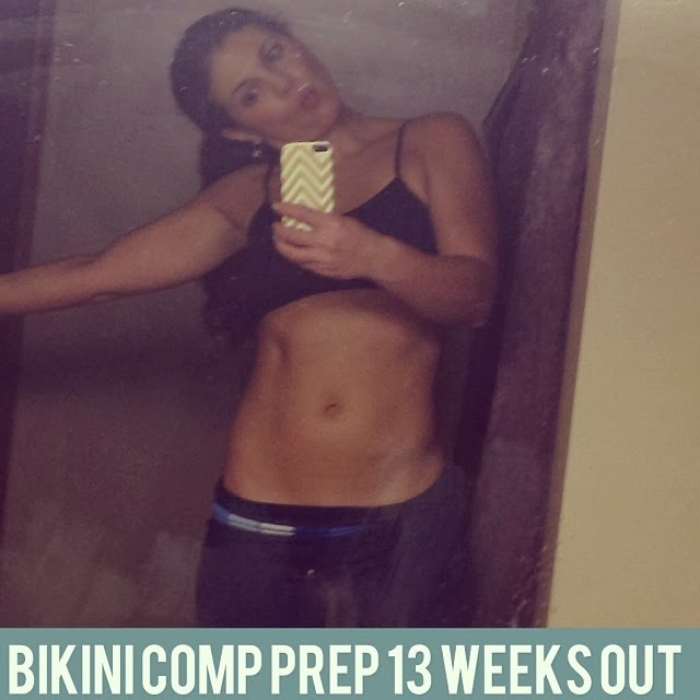 13 week out bikini comp, bikini competition, Alyssa Schomaker, A fit nurse, 12 weeks bikini comp diet, bikini comp training, lean bulk, 2000 cal diet