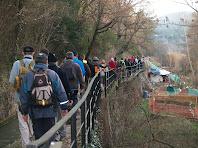 Petits horts ens separen del riu Llobregat
