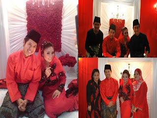 Pertunangan Ally Iskandar dgn Aishah Zainal