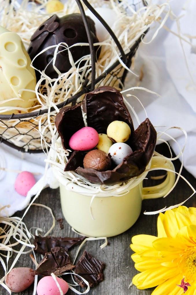 Huevos para Pascua caseros
