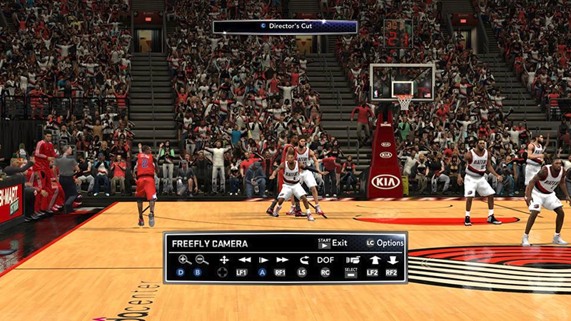 NBA 2K14 Stadium Crowd with Shadows Mod