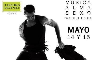 premios Un boletos gratis doble para el concierto de Ricky Martin en México promocion vh1la Mexico 2011