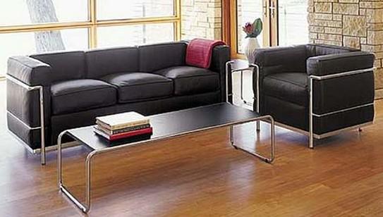 trends interiors day 20 sofa lc2 le corbusier. Black Bedroom Furniture Sets. Home Design Ideas