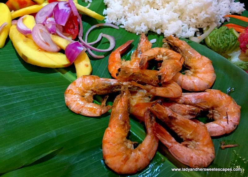 Asian Flavors Dubai garlic butter prawns