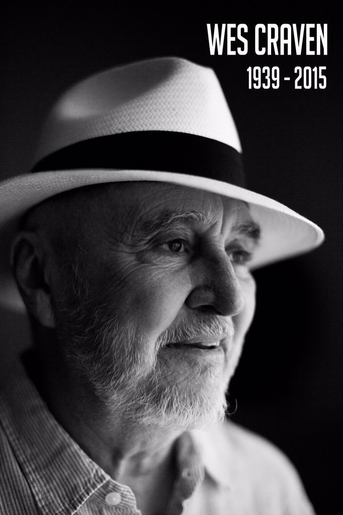 Wes Craven ist tot. Quelle: https://twitter.com/wescraven/status/638161499043688448