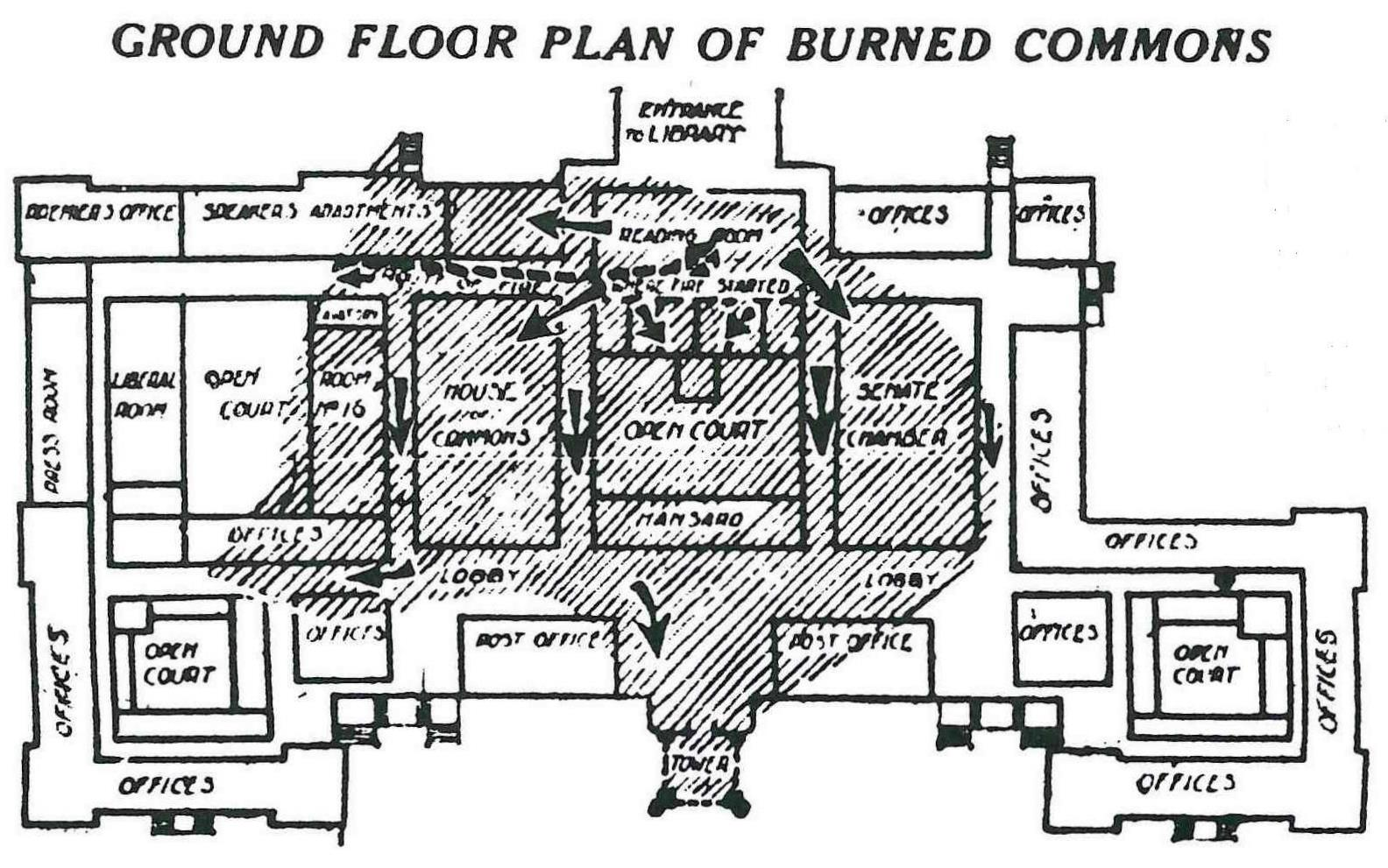 Floor plan of parliament building for Cout plan architecte