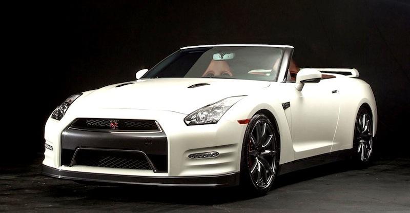 日産gt Rのオープンカー仕様のイメージを米国のカスタムメーカーが公開|idea Web Tools 自動車と