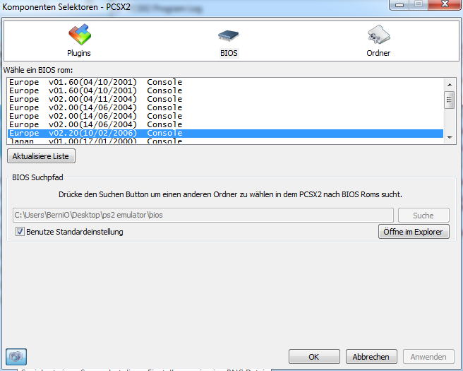 how to run software emulation pcsx2