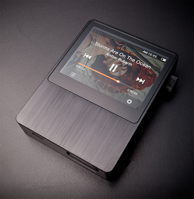 Astell&Kern AK100 Portable Audio System  capable of playing MQS, Ogg, FLAC, WAV, WMA, APE, and even MP3 files.