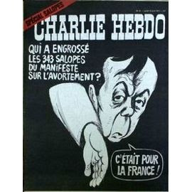 Charlie Hebdo salopes
