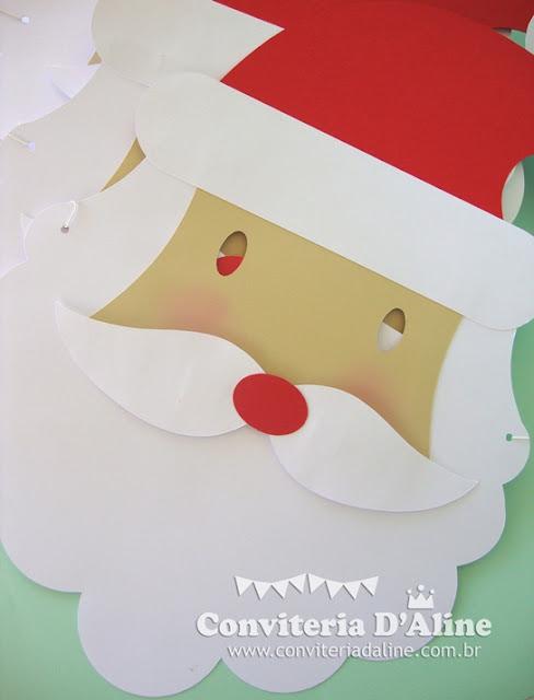 mascara papei noel natal