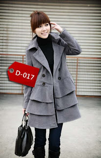model jaket korea