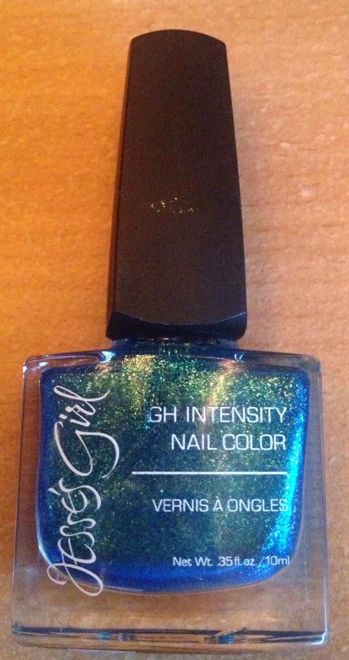 Steph\'s Scribbles: Nail polish: Jesse\'s Girl Intensity Nail Color; Glee
